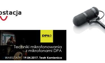 Warsztaty DPA w warszawskim Teatrze Kamienica