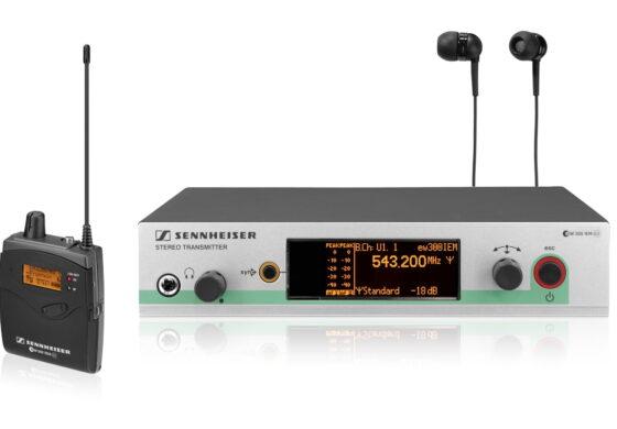 Promocja na systemy odsłuchu dousznego Sennheiser ew 300 IEM G3