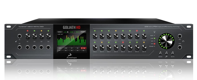 Antelope Audio Goliath HD już dostępny