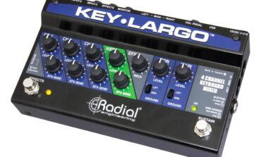 Radial Key-Largo – mikser dla klawiszowców
