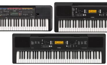 Yamaha – nowe keyboardy z serii PSR
