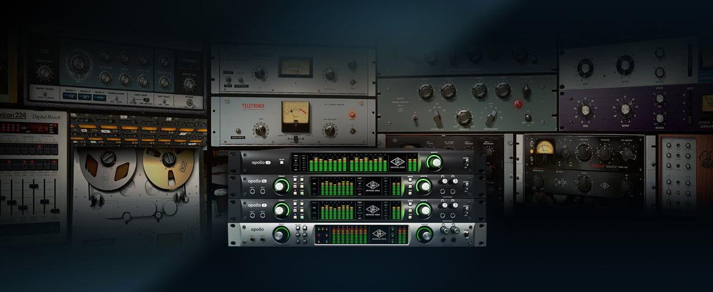 Promocja interfejsów Universal Audio Apollo w wersji rackowej