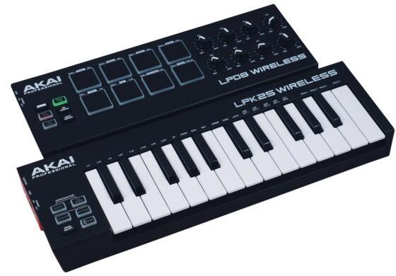Akai LPK25 Wireless i LPD8 Wireless – test kontrolerów MIDI