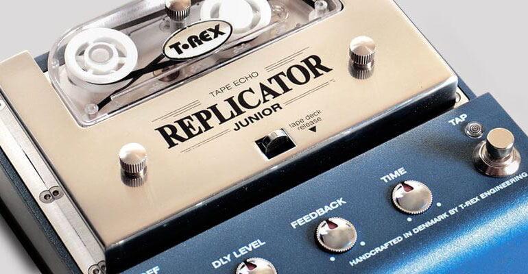 T-Rex Replicator Junior – nowy efekt tape echo