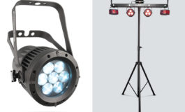 Chauvet COLORado 1-Quad Zoom Tour i GigBAR IRC