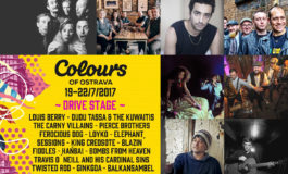 Colours of Ostrava 2017 – line-up Drive Stage