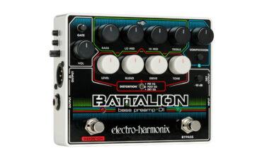 Electro-Harmonix Battalion – preamp/DI-box dla basistów