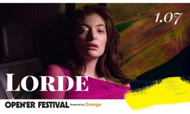 Lorde wystąpi na Open'er Festival 2017