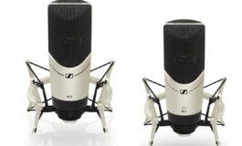 Promocja studyjnych mikrofonów Sennheiser MK4 i MK8