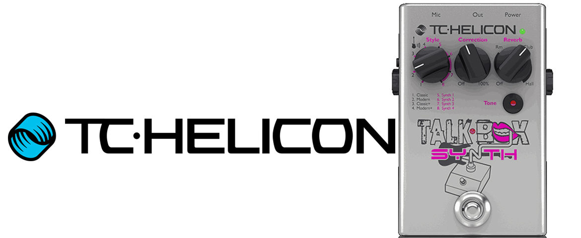 TC-Helicon Talkbox Synth