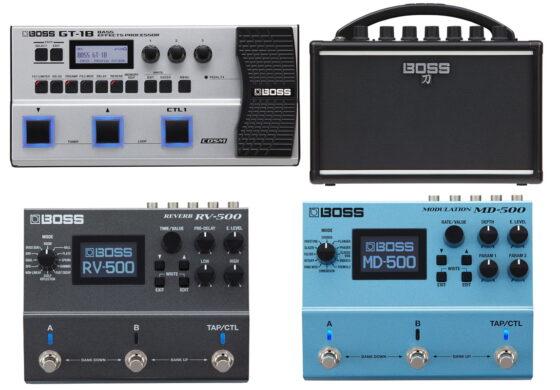 Gitarowe nowości marki BOSS