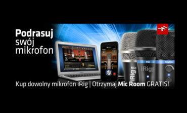 IK Multimedia – Podrasuj swój mikrofon
