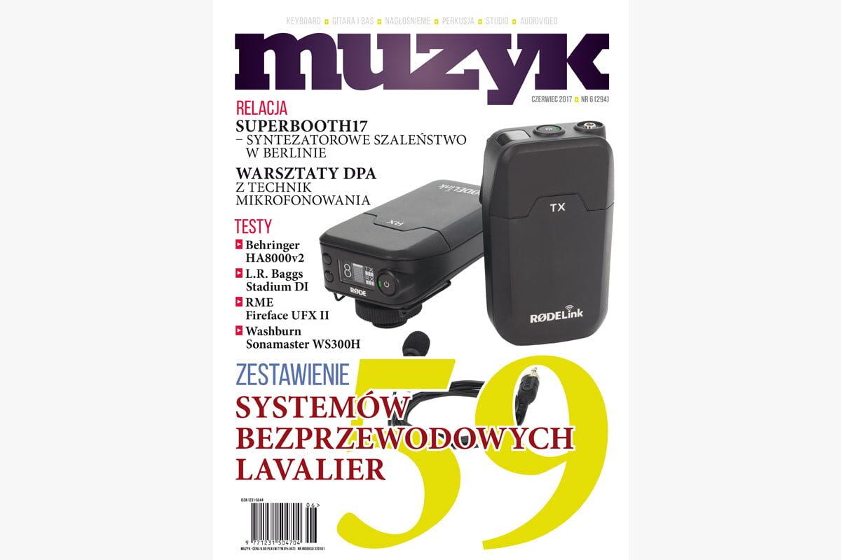 Czerwcowe wydanie miesięcznika Muzyk