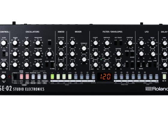 Roland SE-02 – nowy syntezator analogowy