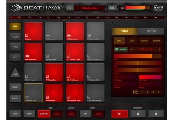 UVI BeatHawk – test aplikacji iOS