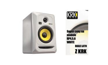 """Audiotech – promocja monitorów KRK """"Białe Lato"""""""