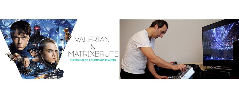 Alexandre Desplat o muzyce i syntezatorze Arturia MatrixBrute