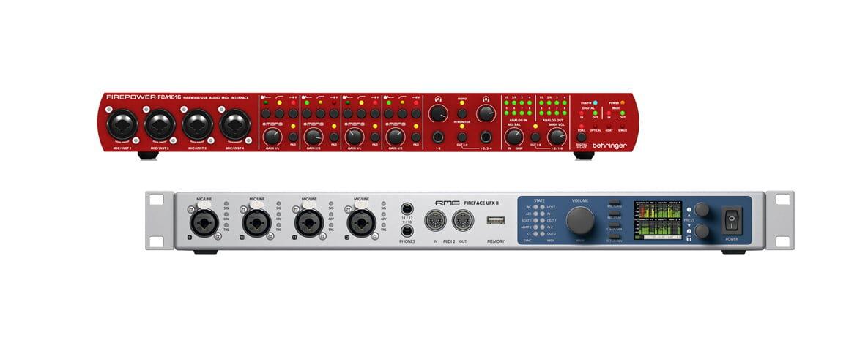 Interfejsy audio FireWire i Thunderbolt – zestawienie