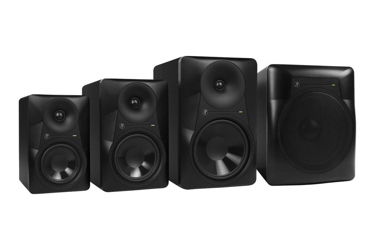 Mackie MR524, MR624, MR824, MRS10 – nowa generacja monitorów studyjnych