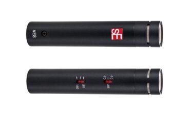 sE Electronics – nowy mikrofon pojemnościowy sE8