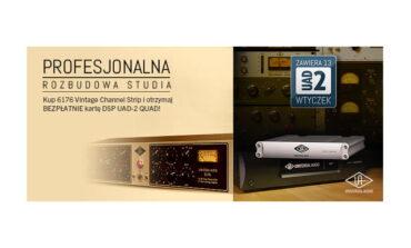 Universal Audio – zmodernizuj swoje studio
