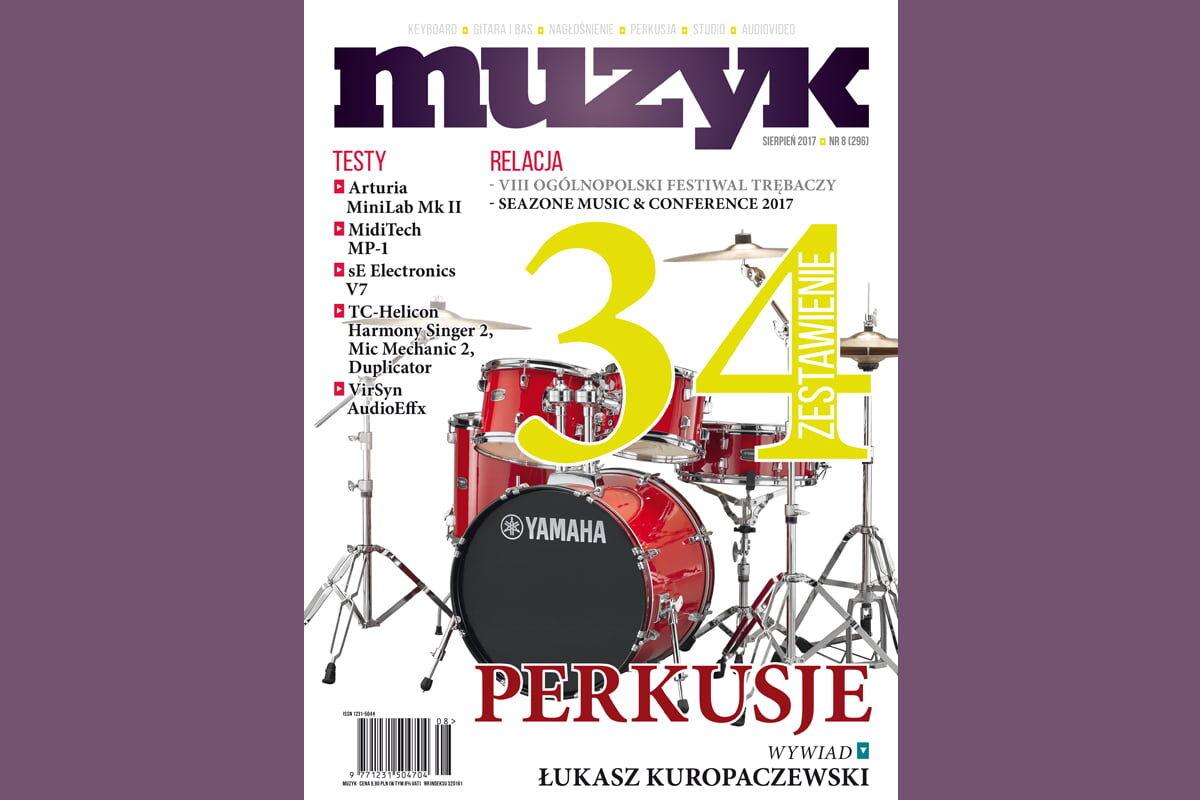 Sierpniowy numer miesięcznika Muzyk