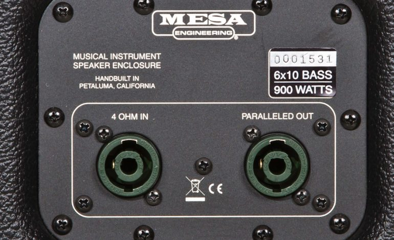 Mesa Boogie 6x10 Traditional Powerhouse