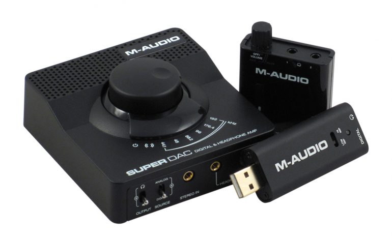 M-Audio Bass Traveler, Micro DAC, Super DAC – test