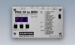 Kenton – nowy konwerter Pro CV to MIDI
