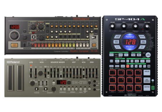 Sierpniowe nowości firmy Roland – TR-08, SH-01A i SP-404A