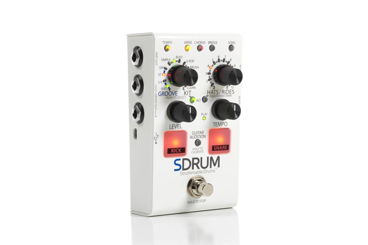 DigiTech SDRUM – automat perkusyjny dla gitarzystów i basistów