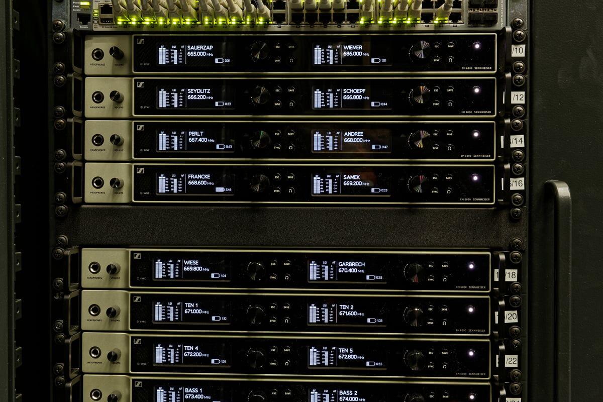 Drezdeńska operetka i systemy Sennheiser Digital 6000