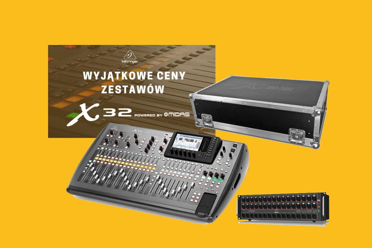 SoundTrade i wrześniowa promocja na zestawy Behringer X32