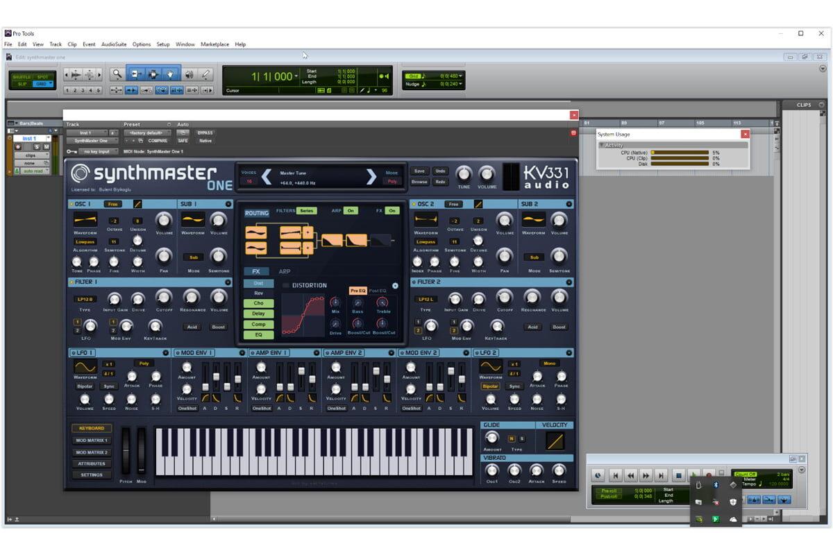 KV331 Audio SynthMaster One – aktualizacja do wersji 1.0.5