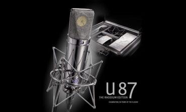 Neumann U 87 Rhodium Edition – mikrofon rzadszy niż złoto