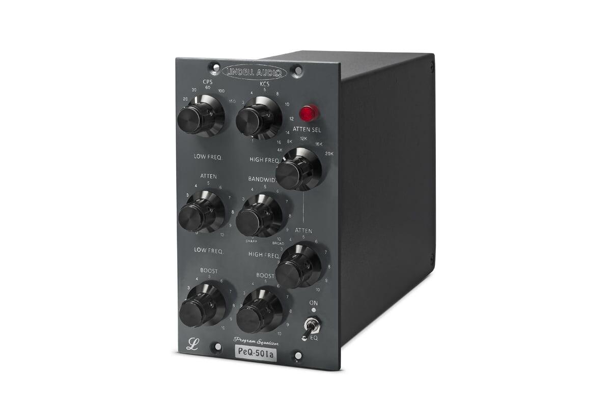 Lindell Audio PEQ-501A – korektor w formacie 500