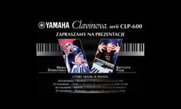 Cztery spotkania z pianinami cyfrowymi Yamaha Clavinova CLP-600