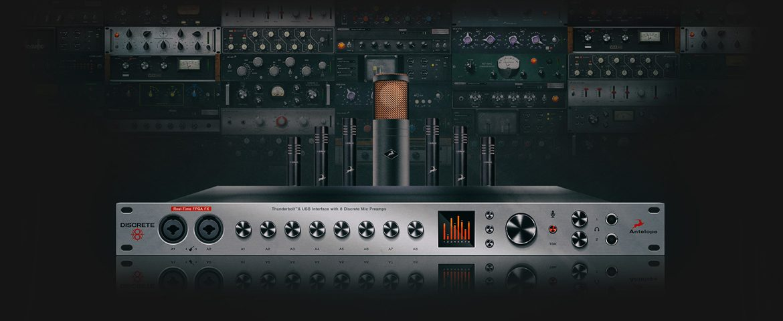 Antelope Audio – interfejsy Discrete i mikrofony
