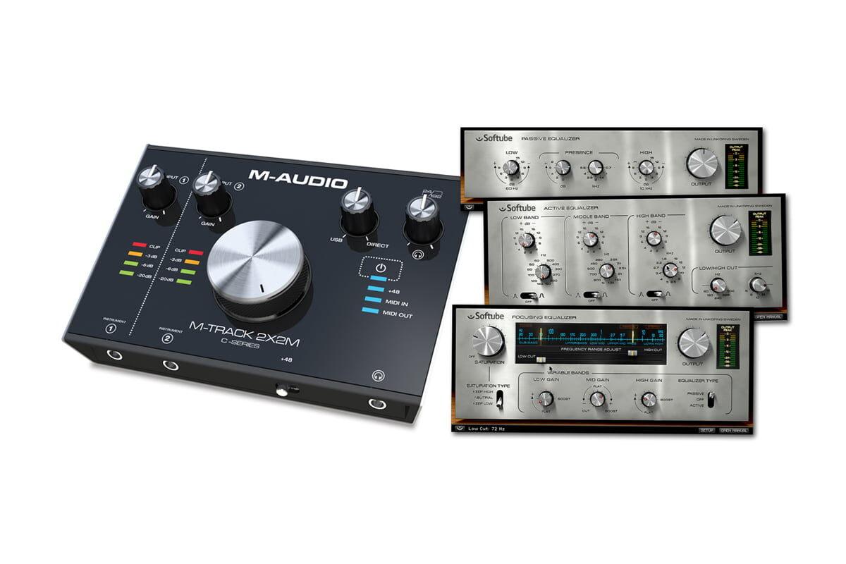 Promocja M-Audio i Softube w Audiostacji