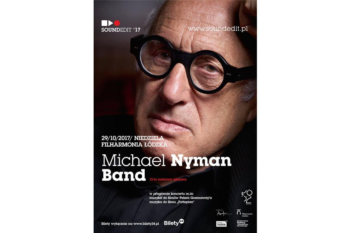 Soundedit '17 – Michael Nyman w Filharmonii Łódzkiej