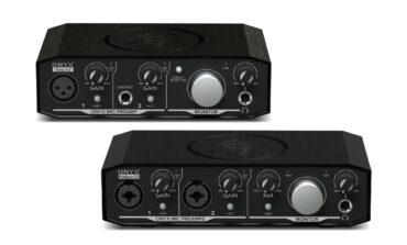 Mackie – nowe interfejsy audio Onyx USB