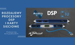"Promocja ""Procesory DSP i karty AESOP/ETH Powersoft GRATIS"""
