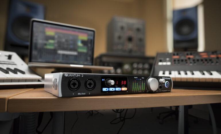 PreSonus Quantum 2 – nowy interfejs audio Thunderbolt