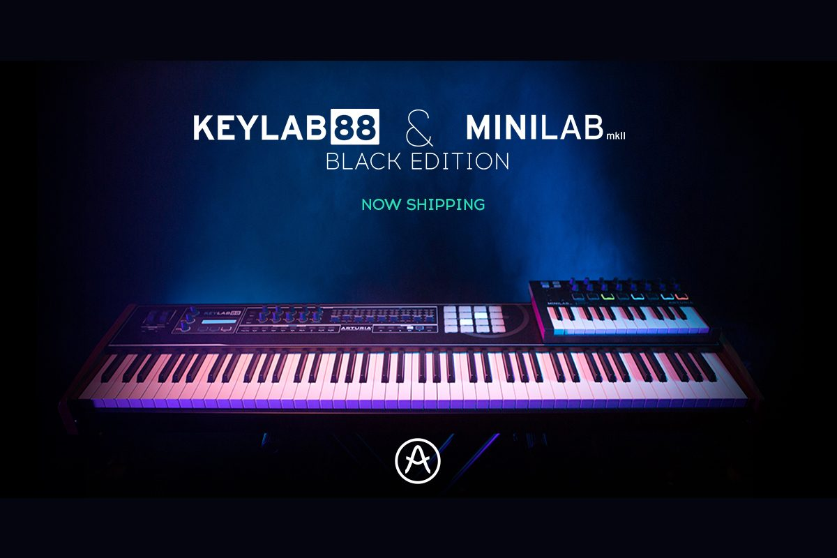 Arturia KeyLab 88 Black Edition i MiniLab MkII Black Edition