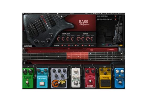 Waves Bass Slapper – nowy instrument wirtualny