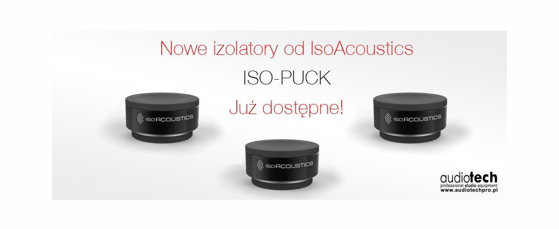 IsoAcoustics – nowe podstawki ISO-PUCK