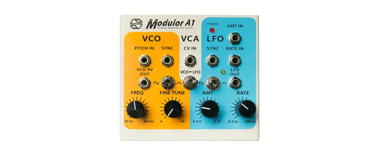 Sonicsmith Modulor A1 – nowy syntezator analogowy