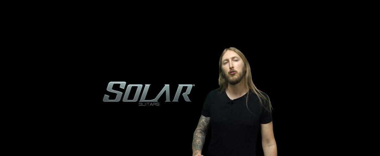 Ola Englund i jego własna marka – Solar Guitars