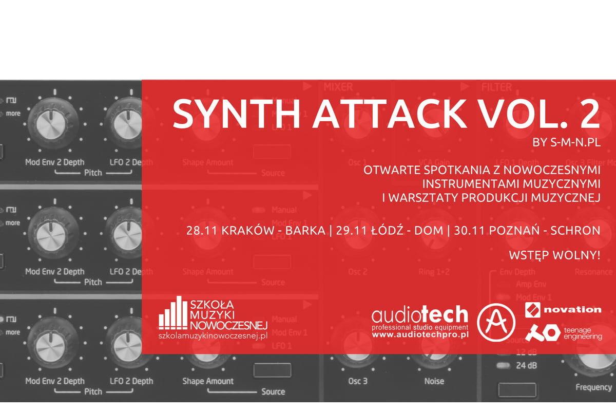 Synth Attack Vol.2 – warsztaty z produkcji muzyki