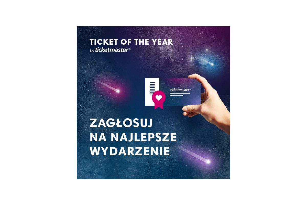 """Plebiscyt """"Ticket of the Year"""" – zagłosuj na najlepsze wydarzenie"""